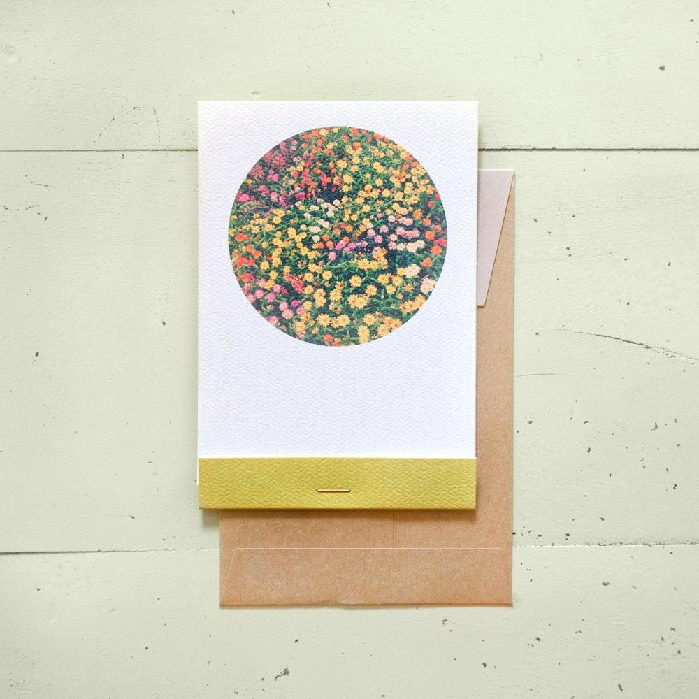 Circle Flowers Card
