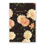 Thank You Dahlias Card