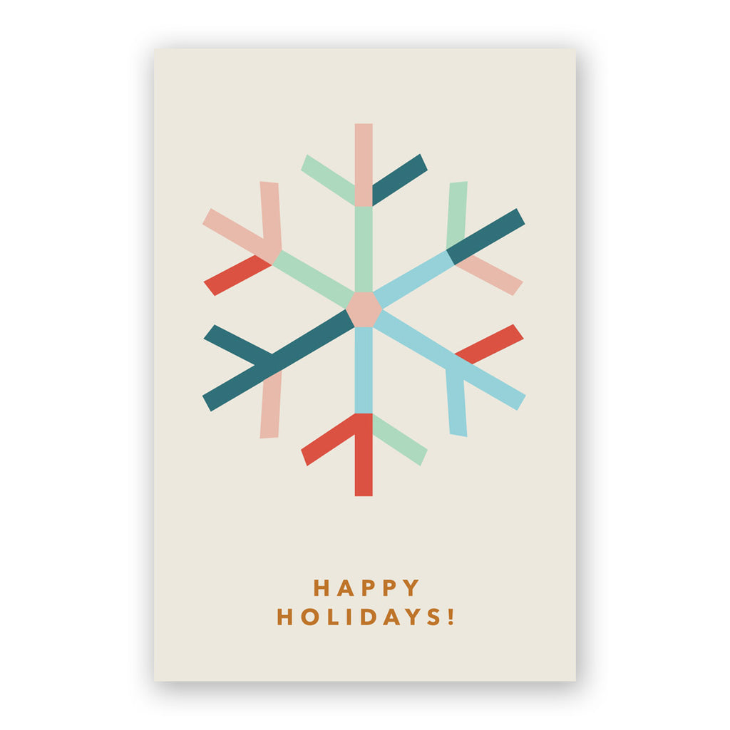 Holiday Snowflake Card