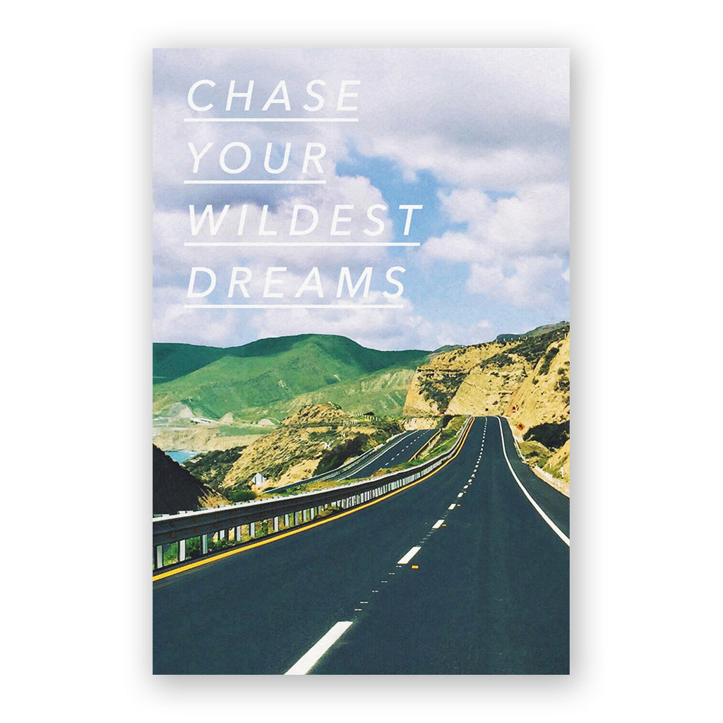 Chase Your Wildest Dreams Card
