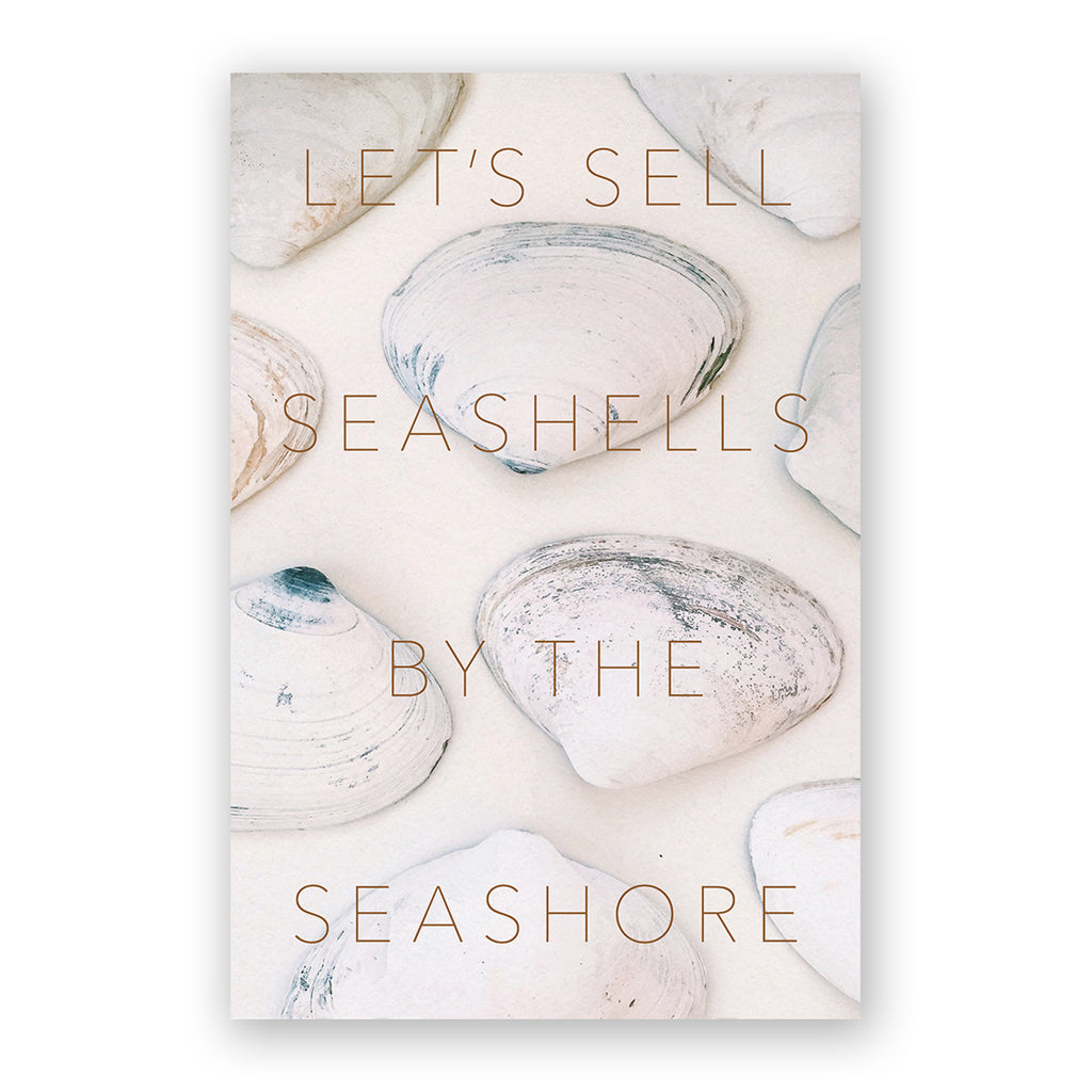 Let's Sell Seashells Card