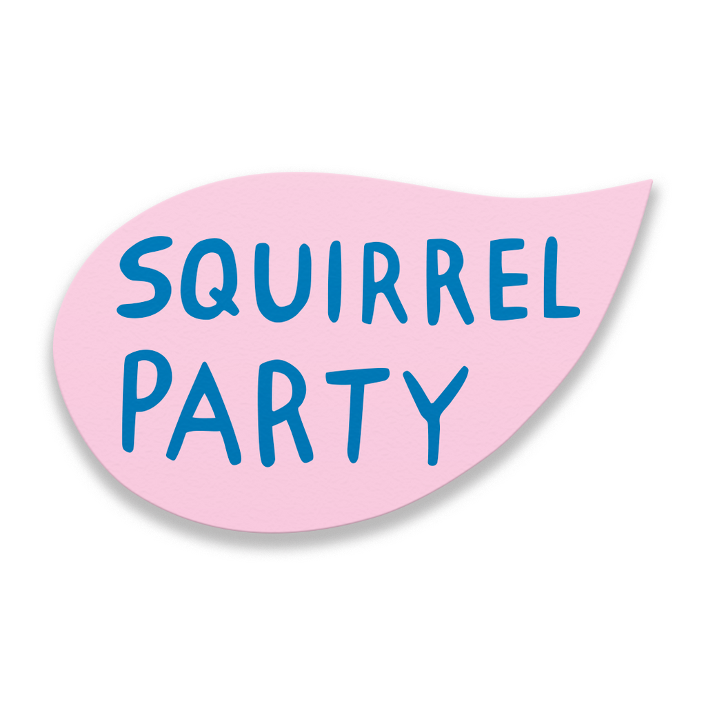 Squirrel Party - Martha Rich Word Bubble Panel