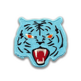 Blue Tiger Patch
