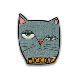 Fuck Off Cat Patch