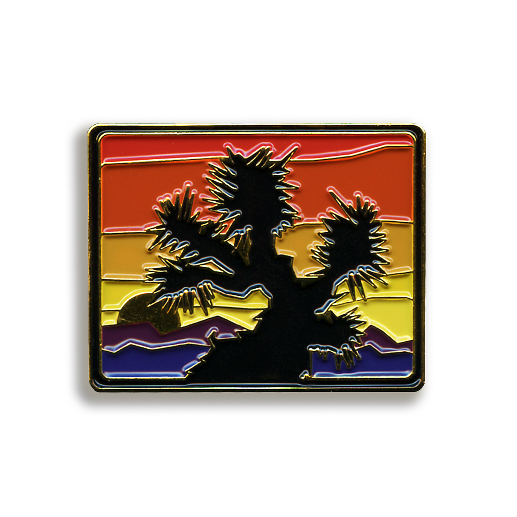 Joshua Tree Pin