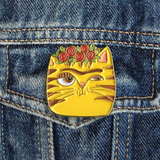 Frida Cat Pin