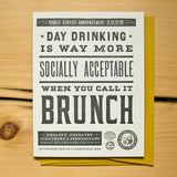 Day Drinking Card