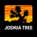 Joshua Tree Shirt - Black with Color Background