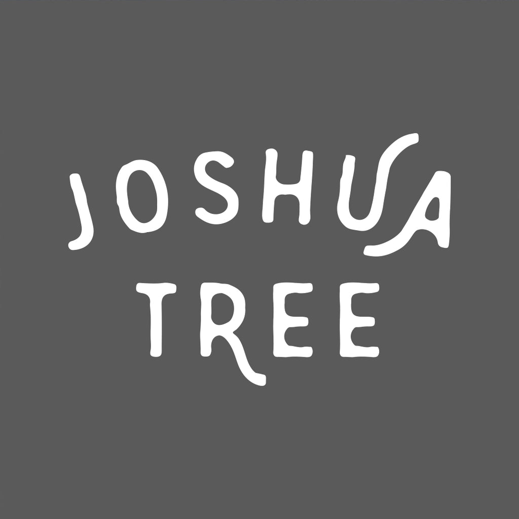 Joshua Tree Shirt - White on Gray