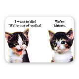 Vodka Kittens Sticker