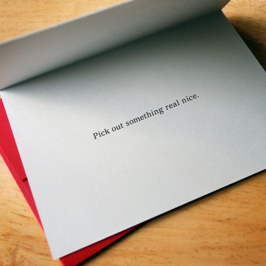 Lazy Gift-Giver Card