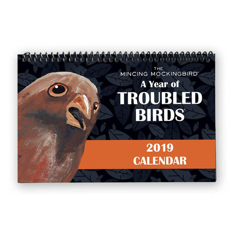 Troubled Birds™ Postcard Set of 50