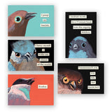 Troubled Birds for Troubled Times Magnet Pack