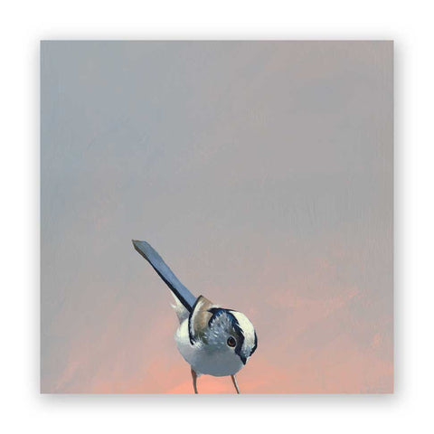 8 x 8 Plover Wings on Wood Decor