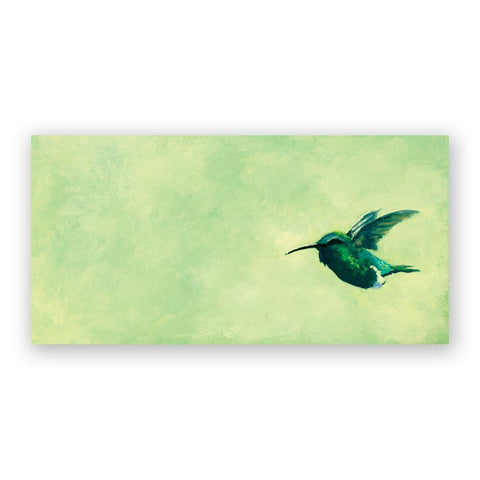 8 x 10 Panel - Fruit Doves Wings on Wood Decor