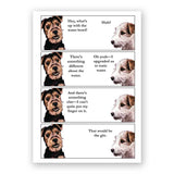 Gin and Tonic Dogs Card