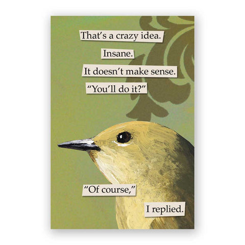 Finally Postcards - Set of 12 - Troubled Birds