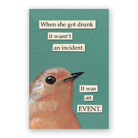 Troubled Bird Magnet Pack