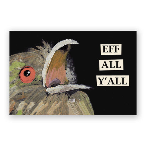 Crazy Postcards - Set of 12 - Troubled Birds