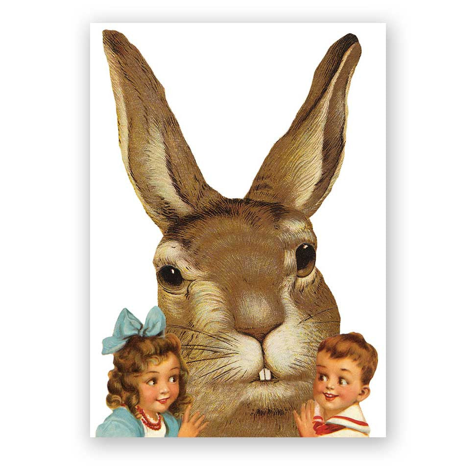 Giant Easter Bunny Card