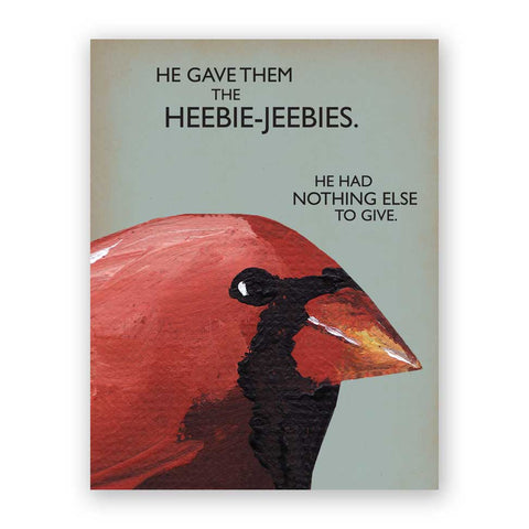 Birthdays Are Like Birds Birthday Card