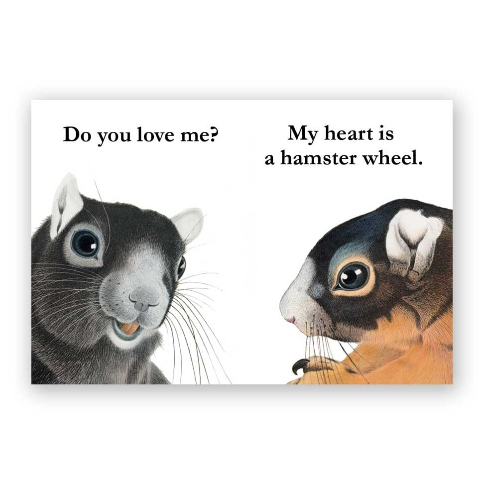 My Heart is a Hamster Wheel Magnet