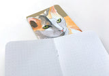 Set of 2 Watercolor Cats Mini-Notebooks - Collection 2