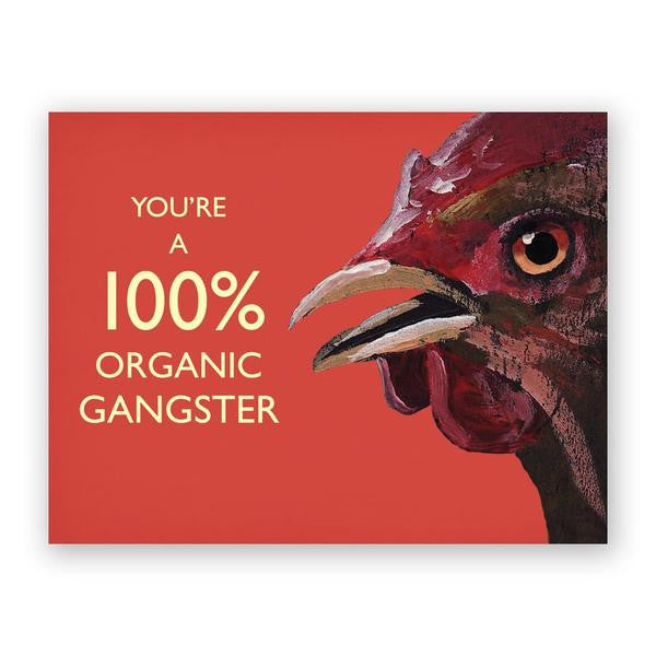 Organic Gangster Card