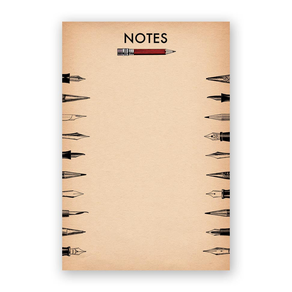 Pencil Notes Notepad