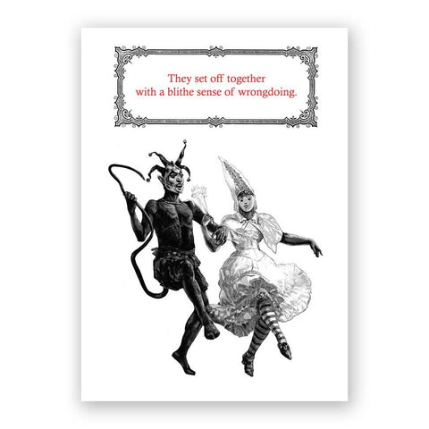 Eccentric Couple Card