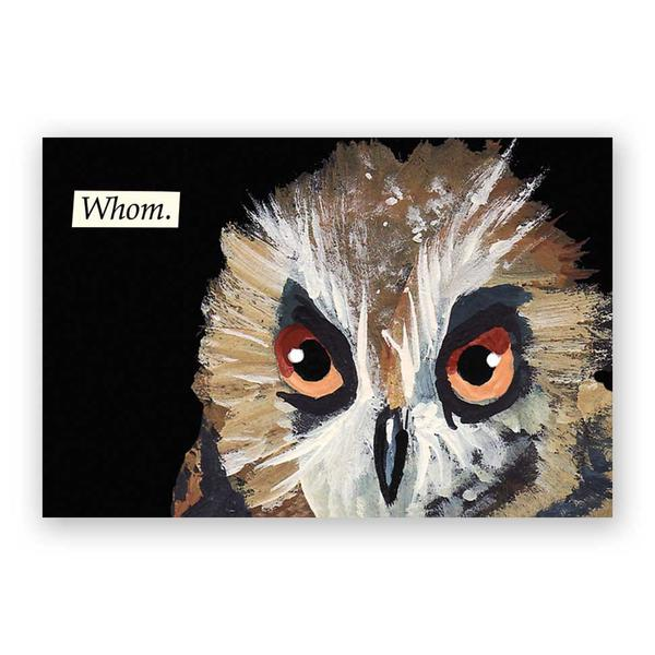 Whom Postcards - Set of 12 - Troubled Birds