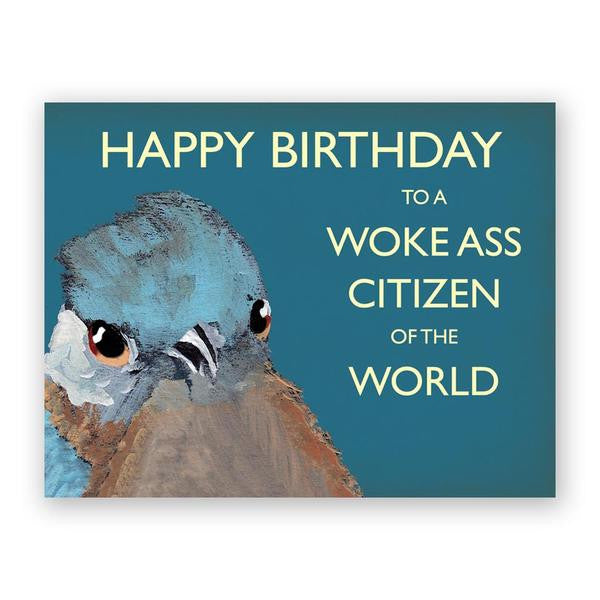 Woke Ass Citizen Birthday Card
