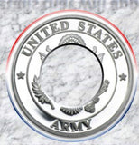 Silver Army Coin-Ring size 9-21