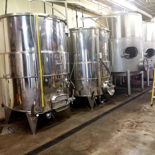 New Tanks = More Wine