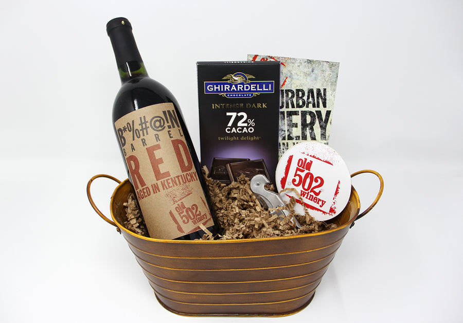 Old 502 Gift Basket - 1 Bottle