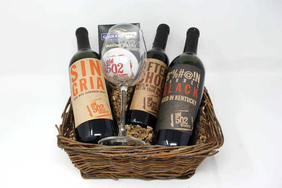 Old 502 Gift Basket - 3 bottles