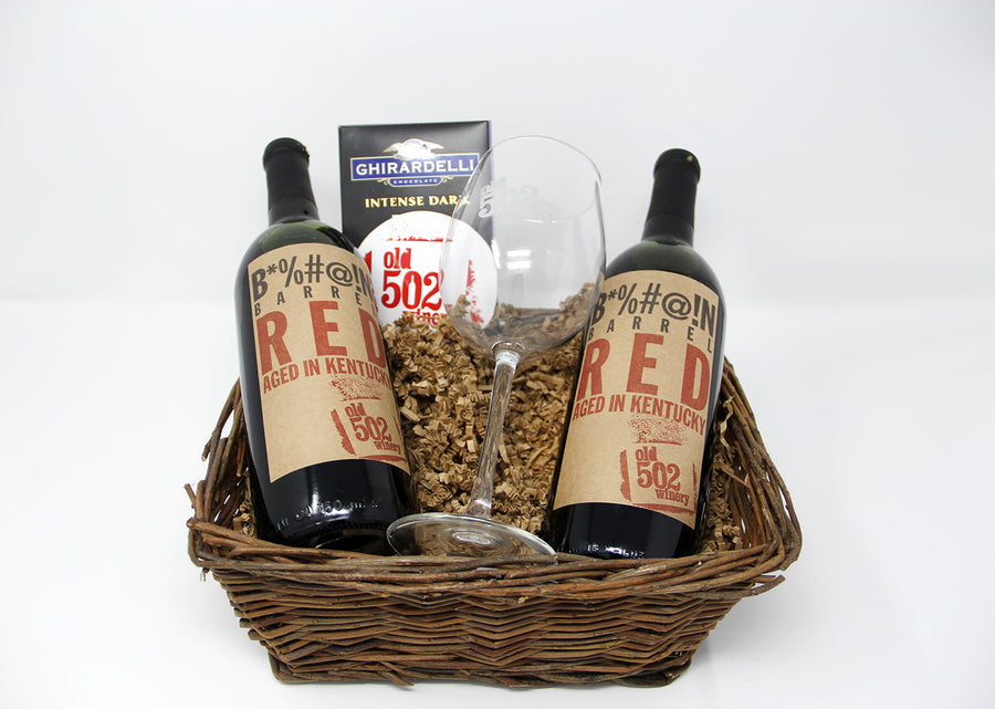Old 502 Gift Basket - 2 Bottles