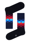 Men's Faded Diamond Socks