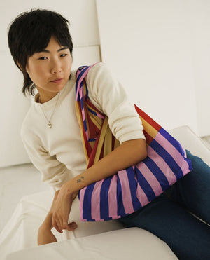 Quilt Stripe Bag