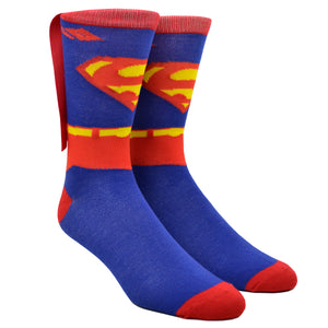 Men's Superman Cape Socks