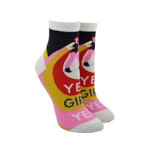 Women's Yes Girl Yes Ankle Socks