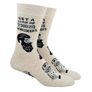 Men's Get A Load Of These Whiskers Socks