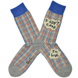 Men's I Don't Care Socks