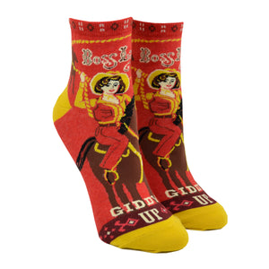 Women's Boss Lady Ankle Socks