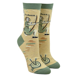 Women's Badass Archer Socks