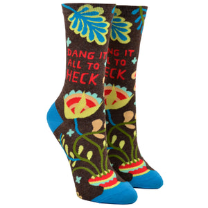 Women's Dang It All To Heck Socks