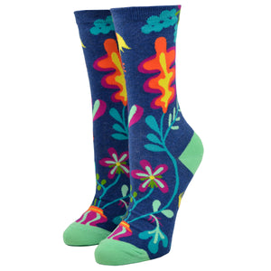 Women's Delicate Fucking Flower Socks