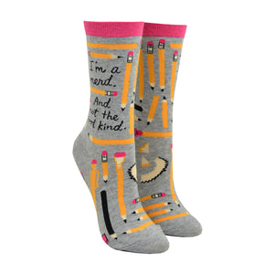 Women's I'm a Nerd Socks