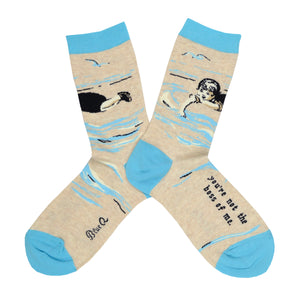 Women's Not The Boss Socks