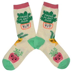 Women's Proud Plant Mom Socks